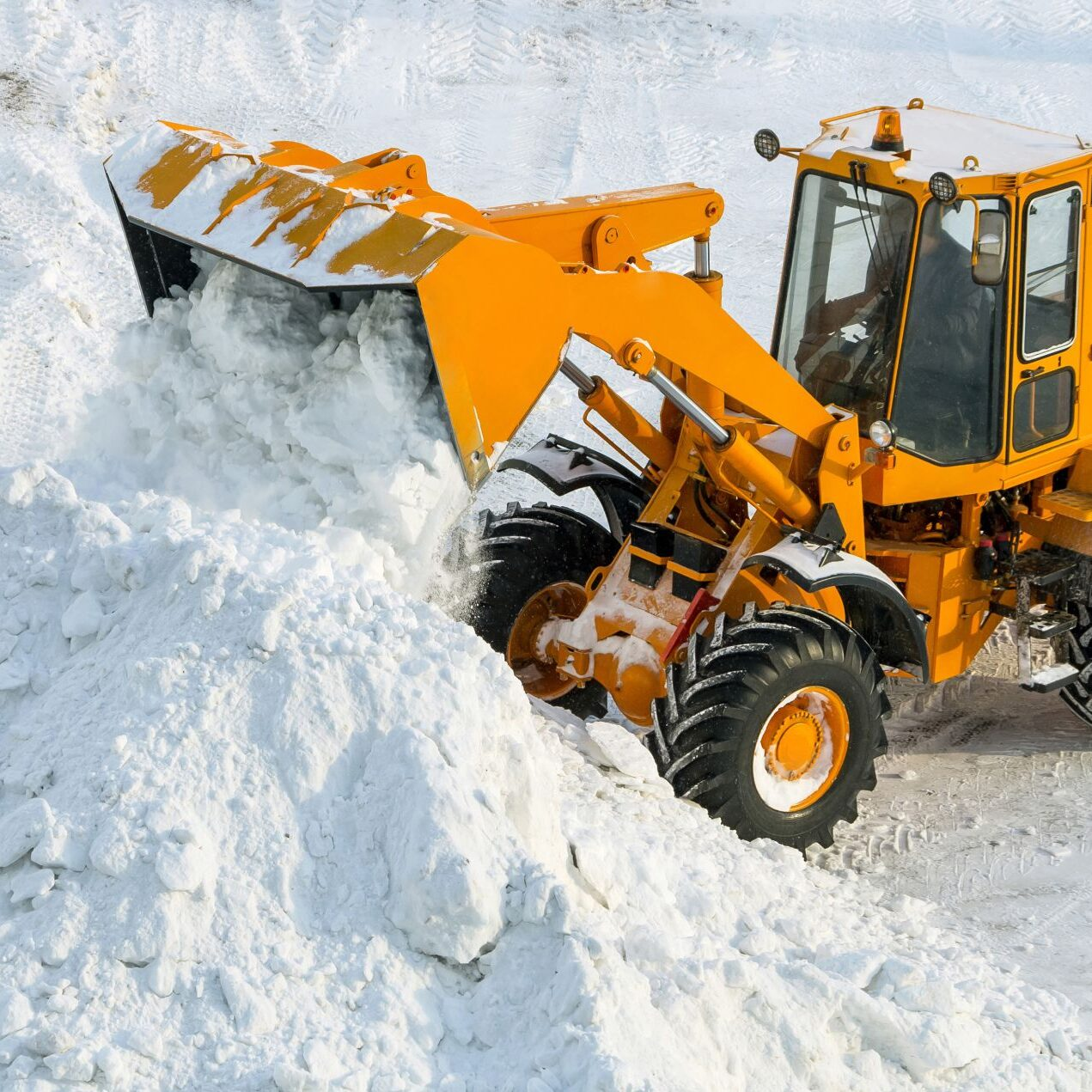 Commercial Snow Maintainance
